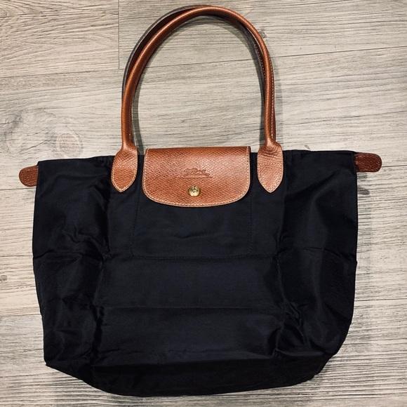 Longchamp Handbags - Longchamp Black Le Pliage Small Shoulder Bag